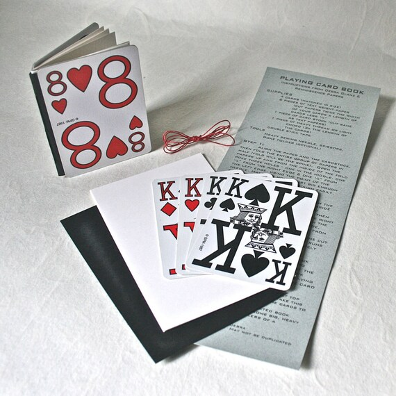 Diy make it yourself playing card book kit for crafting diy make it yourself playing card book kit for crafting stocking stuffer adolescent gift solutioingenieria Choice Image