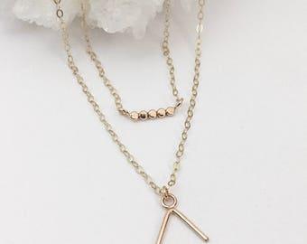 Petite dot necklace