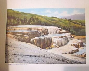 Treasures of Yellowstone National Park Souvenir Booklet Haynes Photos