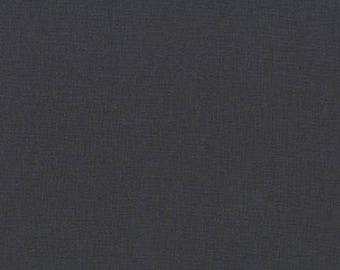 Gotham Grey - Kona Cotton - Robert Kaufman K001-862 Grey 100% solid cotton quilt weight fabric Fat Quarters quilting UK Shop