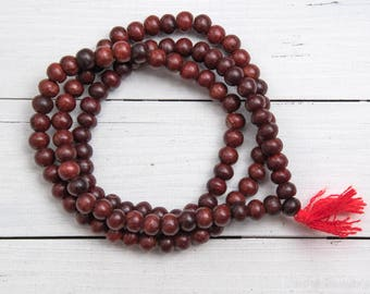Wood  Beads 10mm, Mala Beads,  108 Beads,   Wooden    Beads, Prayer Beads -B1116