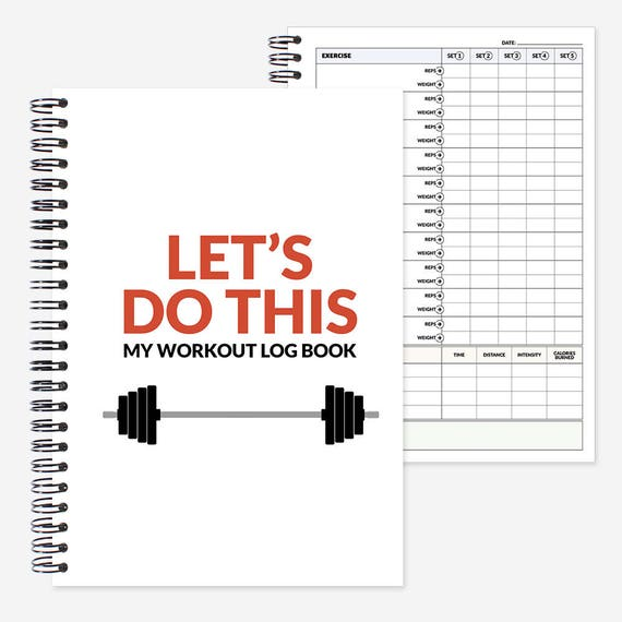 work out log book