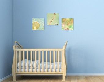 Custom print set, art print set, choose any 3 prints, pick your own, nursery decor, custom set of prints, 10x10 or 12x12 prints,IKEA Ribba