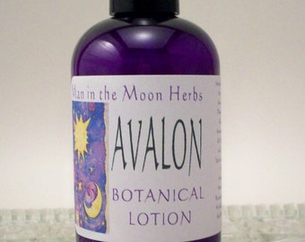 Patchouli Lotion with Musk and Sandalwood - Avalon Botanical Moisturizer