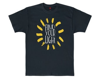 Find Your Light - Josh Groban Graphic Tee You Raise Me Up Video T-Shirt