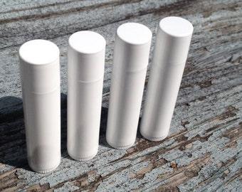 4 Discount Lip Balms - Overruns and Misprints - Clearance Lip Balm - Botanical Bars - 4 Lip Balms