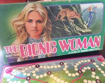 Vintage Bionic Woman board game 1976 Jamie Sommers