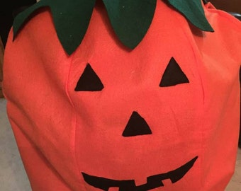 Pumpkin face Costume