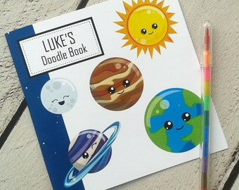 Space Doodle Book