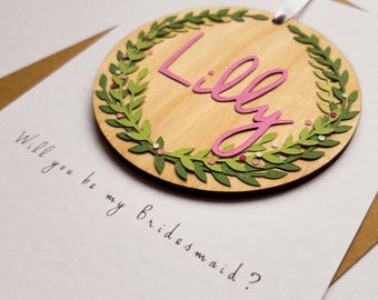 Will you be my Bridesmaid - Greeting Card