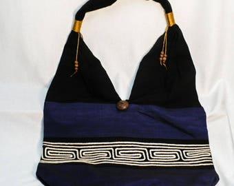 Hobo bag, shoulder bag, fabric bag, handmade fabric bag