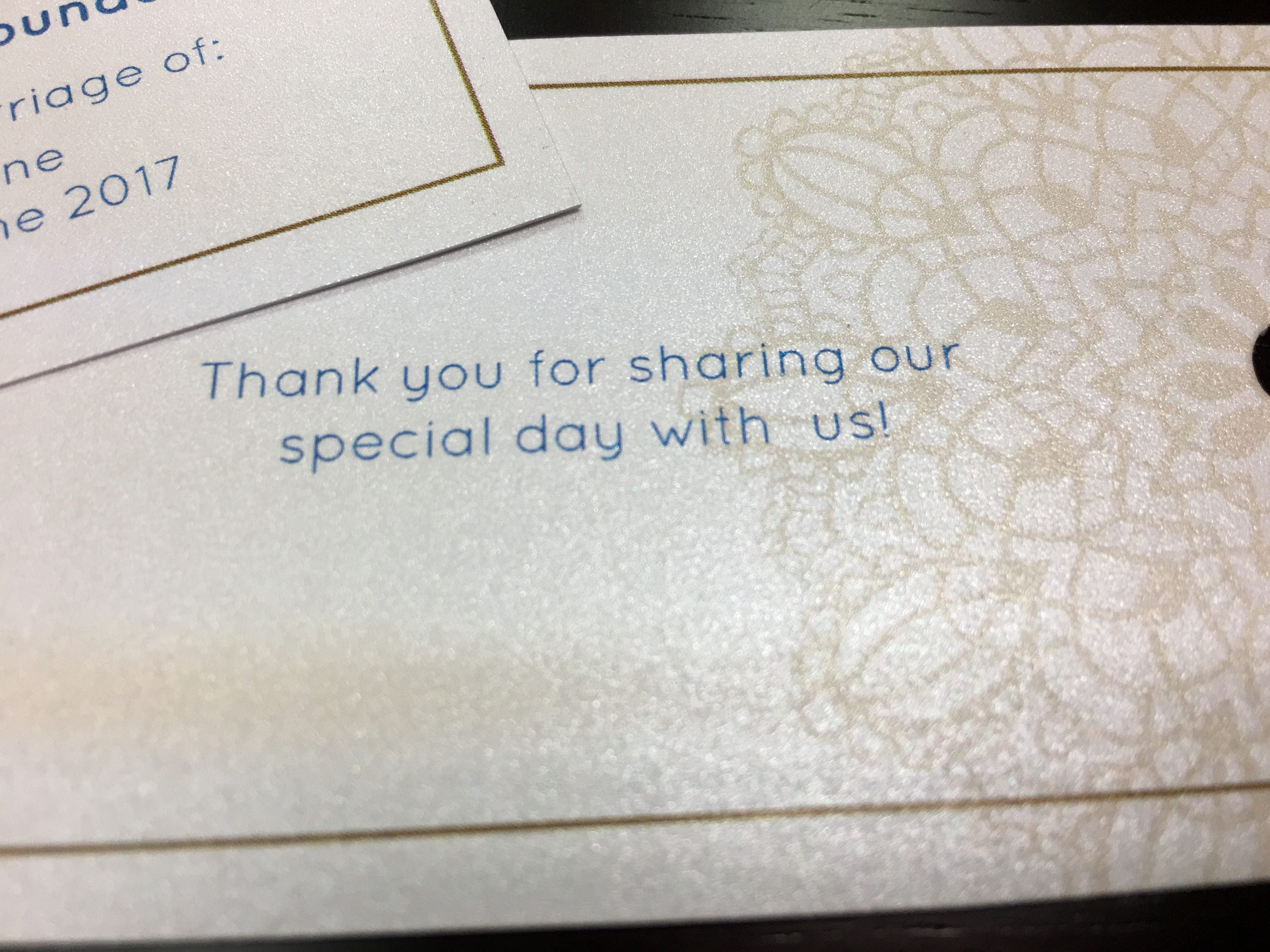 Personalized Donation Cards • Double Sided Donation Cards • In Lieu ...
