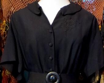 Fab 50s XL Little Black Dress