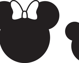 Mickey Family Decals! Your choice of 4 family members!