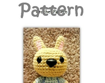 MyLittleZooFriends Series - Berry Blue Bunny (PDF Pattern)