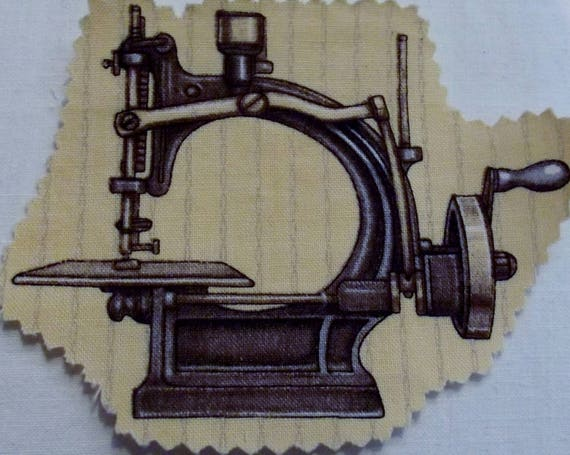 MACHINE SEWING 8 - FUSIBLE COTTON APPLIQUE