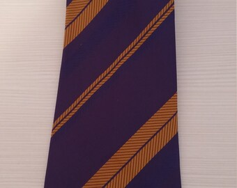 Retro vintage tie New Made in 1978 in ex Yugosavia  For collectors and tie fans