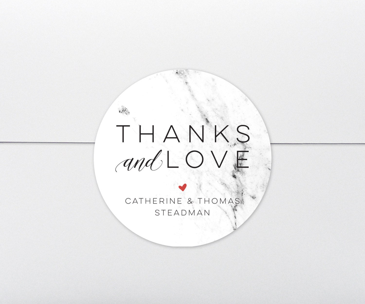 Wedding Favor Tags Marble Favor Stickers Modern Labels Wedding