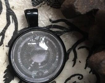 Camera Lens Pendant