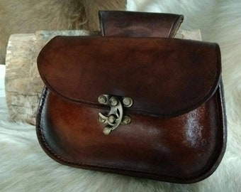 Medieval inspired purse