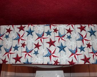 Patriotic Americana Toilet Tank Topper