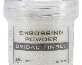 Ranger Embossing Powder - Bridal Tinsel