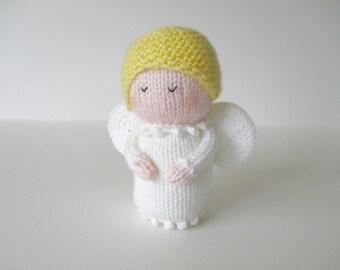 Angel doll knitting pattern