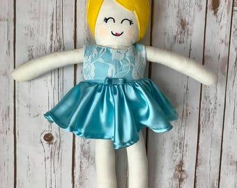 Princess Cinderella-Handmade Doll- made to order