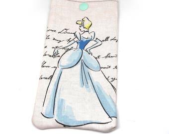 Cinderella sunglass case