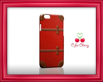 Vintage luggage - red 3D Wrapped Phonecase iPhone X 8 plus 7 plus 6 plus 5s 5c Samsung note S7 S8 S9 plus HTC LG sony Phone Case Cover Skin