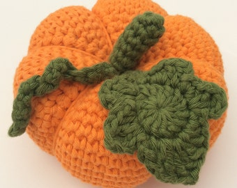 CROCHET PATTERN - Pumpkin by Cotton Pod - Instant PDF Download