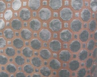 Raised Velvet fabric MINERAL
