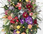 XXL Front Door Wreath, Mu...