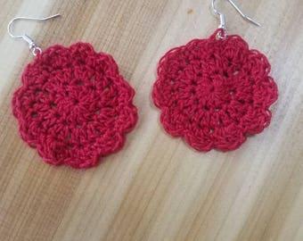 Crocheted Earrings