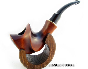 "Set - Tobacco Pipe ""COMET"" Smoking pipe Classic Wooden pipe Handcrafted Pipes Limited Edition"