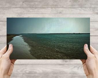 East Beach Rainy Sunset, Norfolk VA, Fine Art Photographic Print, Photo, Beach Photography, Canvas Print, Photo Art, Sunset, Beach Life #11