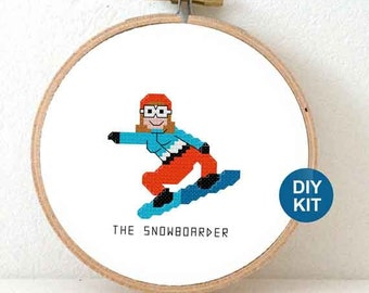 DIY gifts for snowboarder. Winter holiday gift for her or him. Snowboarding gift ideas. Winter olympics gifts