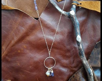 Mixed point necklace 1
