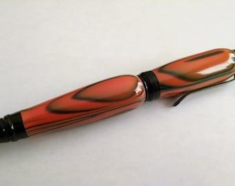 Bengal Stripe Twist Pen with Black Accents