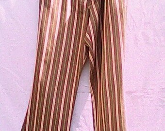 Striped Jeans Flared 1960s.