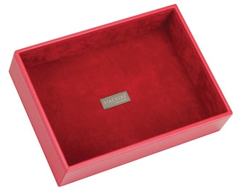 Stackers Red & Red Classic Deep Open Jewellery Tray LC73172