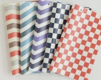 "20's Laminated Cotton Fabric by the yard 5TYPE_No21~25 Choice _43.3""  4YO 1006455"