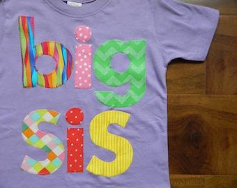 Big Sister Shirt, Big Sis T-Shirt, Big Sister