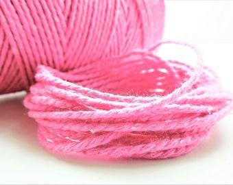 10 meters Baker's twine pink