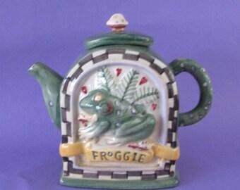 Froggie Teapot