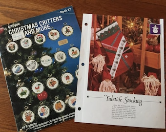 Yuletide Sticking and Christmas Critters and More (book 87) by Kount on Kappie