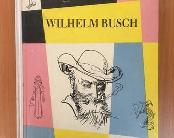 Vtg Wilhelm Busch Album Der, Kinderbuchverlag Berlin, 1960s, German Book GDR