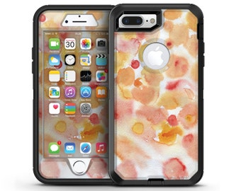 Orange Absorbed Watercolor Texture - OtterBox Case Skin-Kit for the iPhone, Galaxy & More