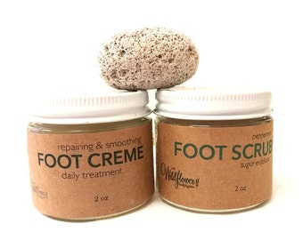 Foot Care Gift Set / Natural Foot Care Gift Set