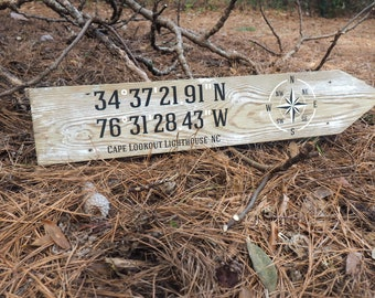 Latitude Longitude Signs
